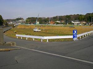 横浜市泉区:農地造成施工前