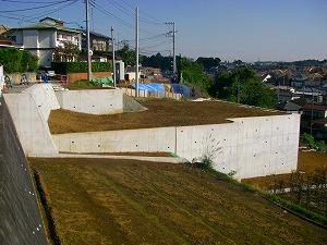 横浜市緑区:造成工事施工後