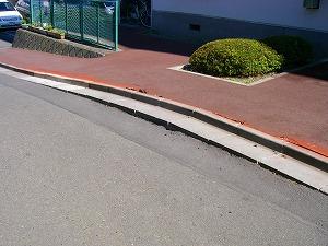 横浜市戸塚区:側溝改修施工前