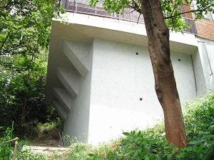 横浜市港南区:壁の補強工事施工後