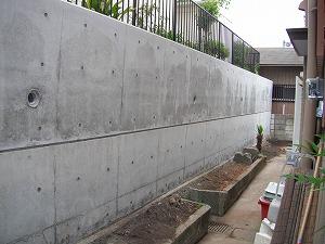 横浜市神奈川区:壁の補強工事施工後