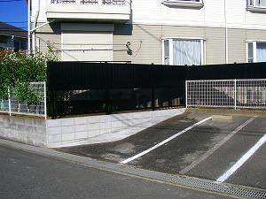 横浜市戸塚区:駐車場改修工事施工後