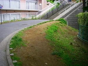 横浜市戸塚区:外構施工前