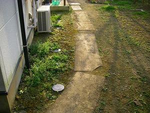 横浜市戸塚区:整備工事施工前