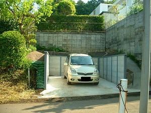 横浜市戸塚区:駐車場施工後