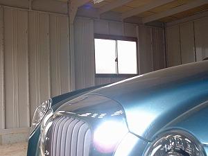 窓ガラス保護:施工前